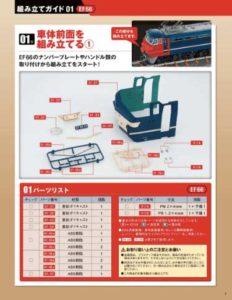 週刊『ブルートレイン 3車両をつくる』マガジンイメージ