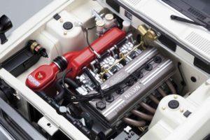 週刊ケンメリGTRのモデルのエンジンルーム