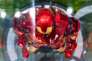 アイアンマン実機サンプル上から撮影
