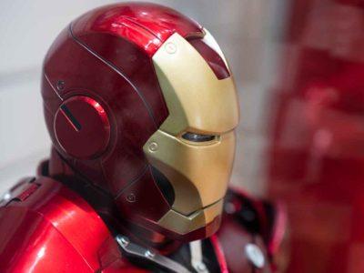 アイアンマン実機サンプル頭部