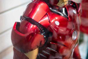 アイアンマン実機サンプル腕付け根