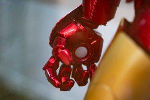 アイアンマン実機サンプル 手部