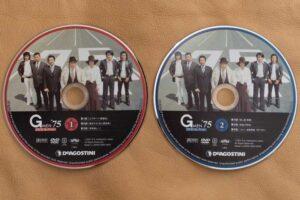 「隔週刊Gメン'75 DVD コレクション」のDVD各号色が違うのかも。
